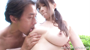 Sensual nipponese minx Hana Nonoka is the true master of pole sucking
